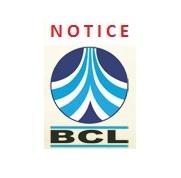 Notice BCL