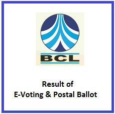 Result of E-Voting & Postal Ballot